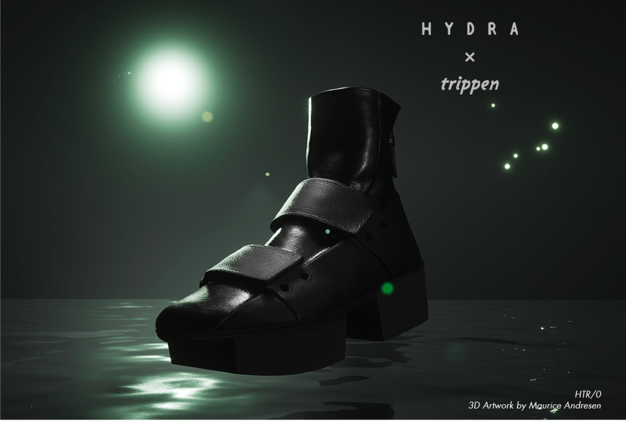 Hydra Trippen Collaboration shoes