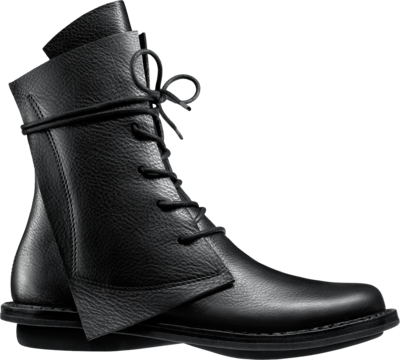 Geometric Trippen Boot Rectangle in black