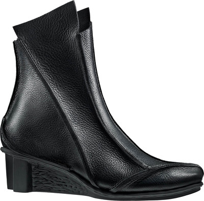 Trippen ankle boot Salt in black