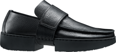 Classic Trippen loafer with a wide strap and Velcro fastening