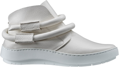 Slip-on booties from Trippen in white