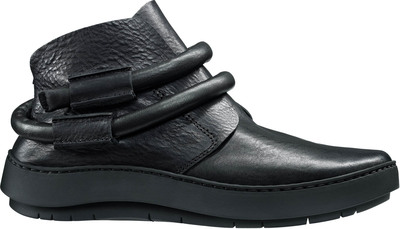 Slip-on booties from Trippen in black