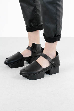 Trippen hatch f black waw leather shoes 4