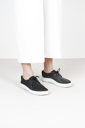 Trippen shio f pull blk leather shoes