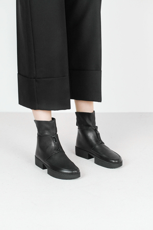 Trippen past f waw vst blk leather boots