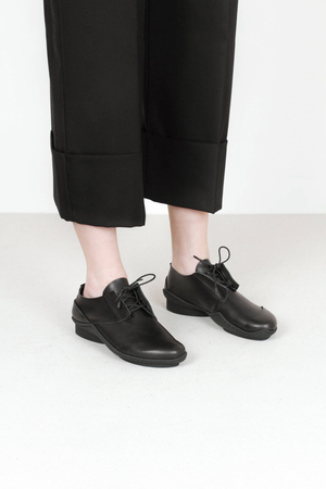 Trippen moby f waw blk kopie leather shoes