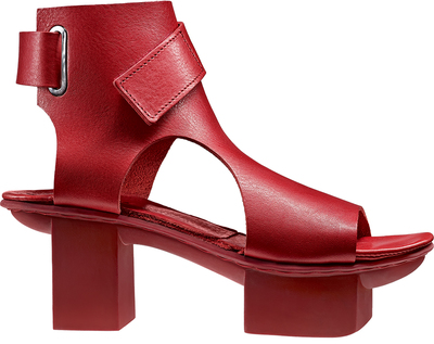 red Trippen high heel sandals