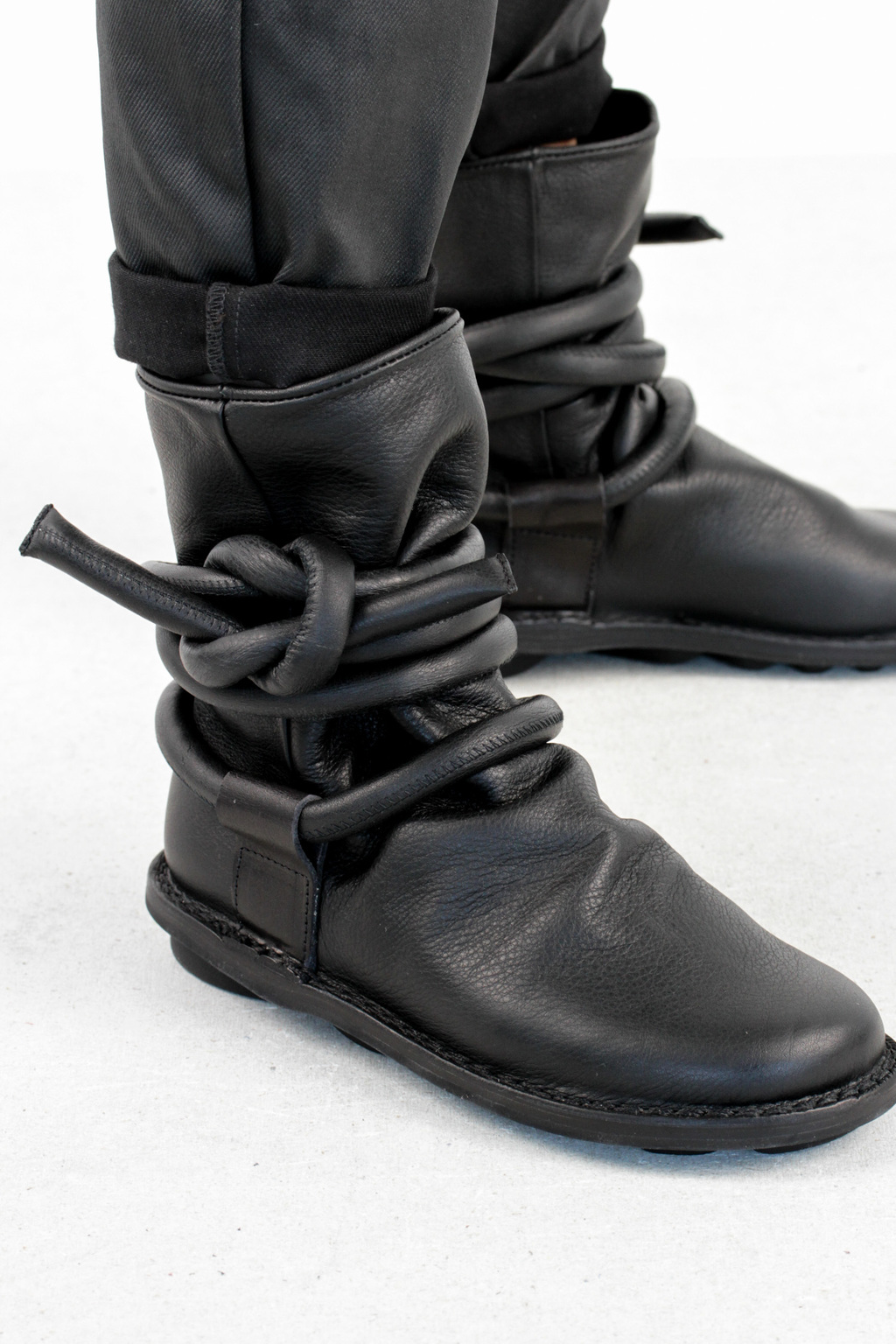 Trippen cable f black waw leather boots4