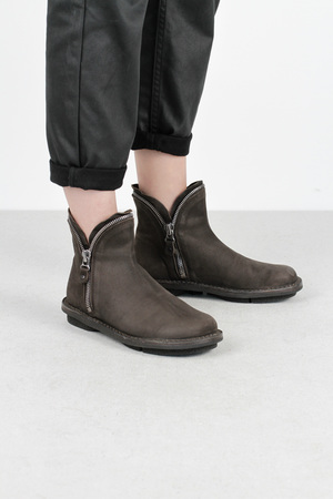 Trippen diesel f espresso tiz leather shoes