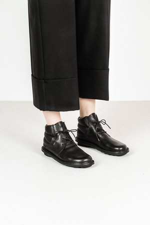 Trippen idler f waw blk leather boots