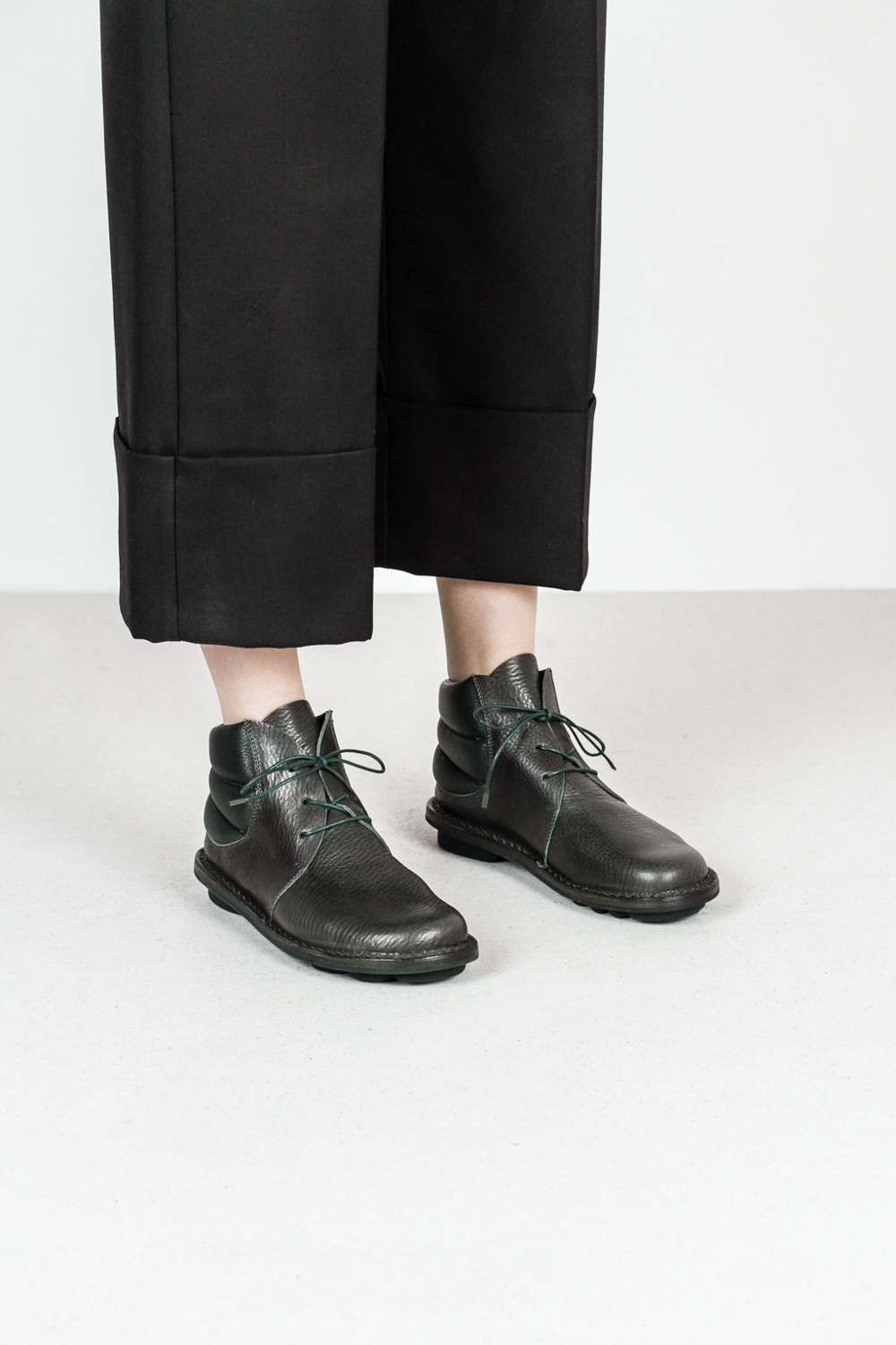 Trippen idler f waw forest leather boots