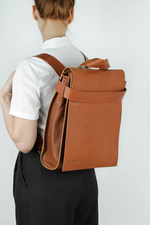 Bagpack cuoio