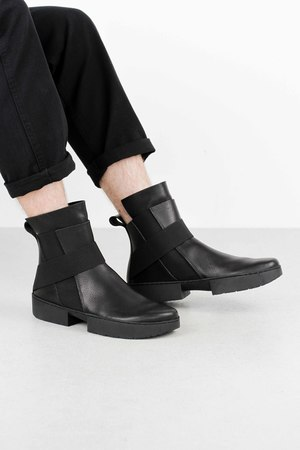 Trippen scaffold black waw so blk leathershoe1