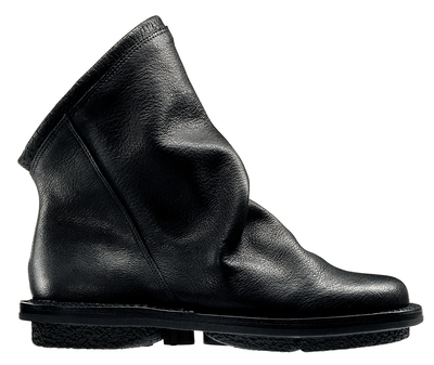 Trippen Bomb Boots black leather shoe