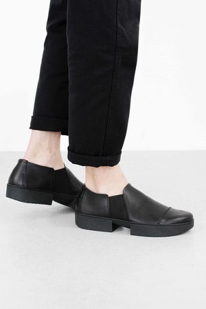 Trippen lazy black waw so blk leathershoe1