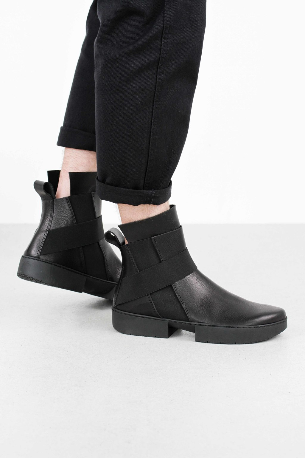 Trippen scaffold black waw so blk leathershoe2